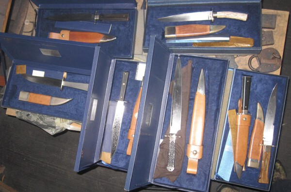 Hanwei Collection Historic knives, 2-18-20.JPG