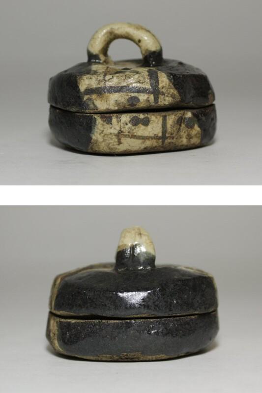Pottery_Kogo_Kuro Oribe1_1.jpg