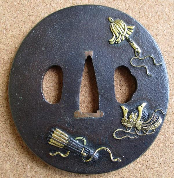 Bronze tsuba 1.JPG